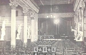 Antigua sala del Conservatorio, en el Romea.